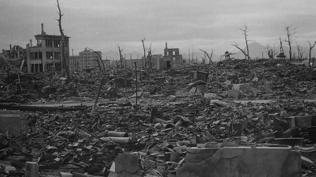 Hiroshima dopo la bomba atomica