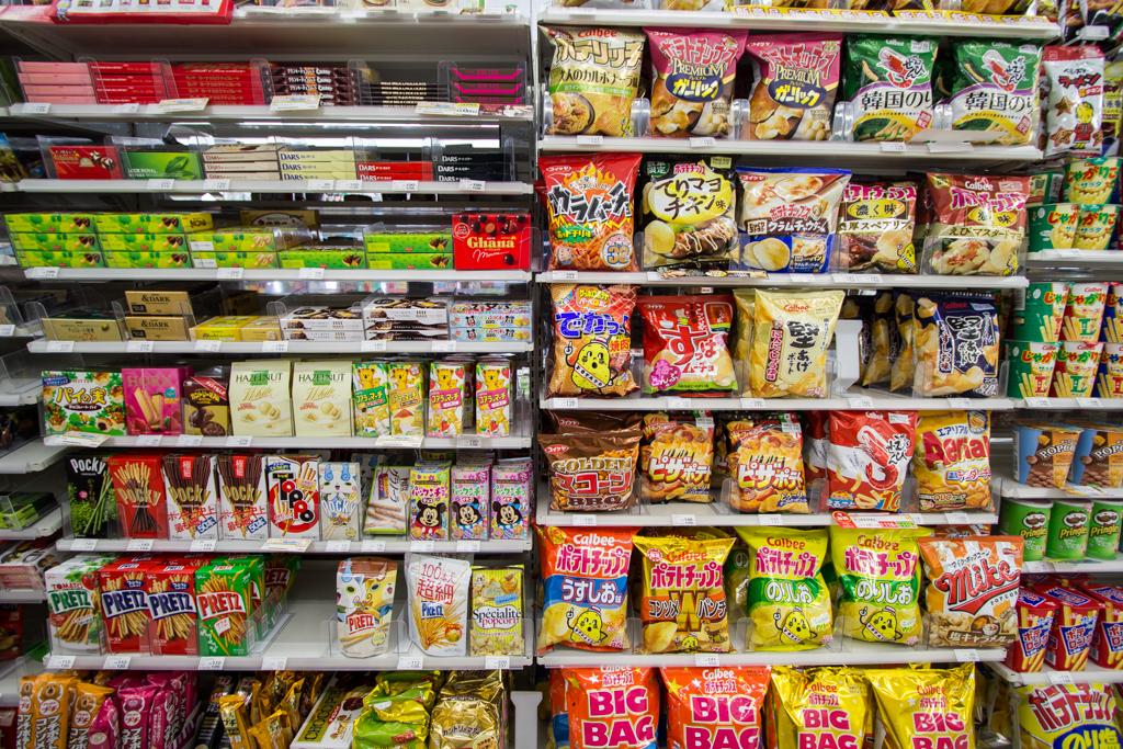 Varietà di snack